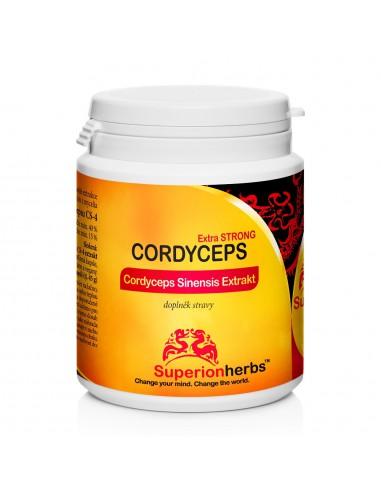 Cordyceps, Extrakt 40 % polysacharidů, 15 % manitolu