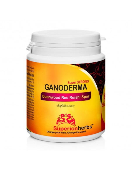 Ganoderma, Duanwood Red Reishi, 100% spórový prášek
